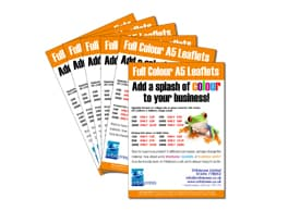 Leaflets. The perfect solution!
